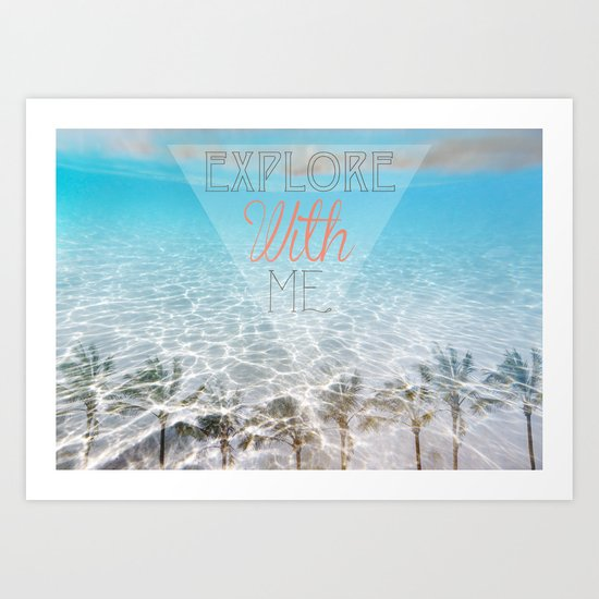 Tropical Exploration  Art Print