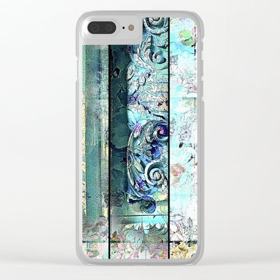 Romance a Florance Clear iPhone Case