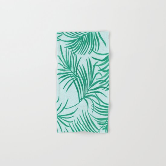 Green Leaves Of Home Hand & Bath Towel