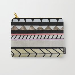 Line Abstract Carry-All Pouch