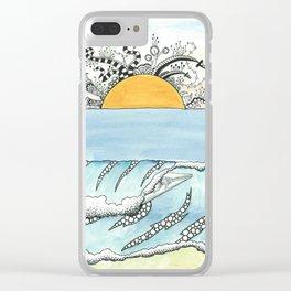 Daydream #9 Clear iPhone Case