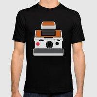 Polaroid SX-70 Land Camera Black MEDIUM Mens Fitted Tee