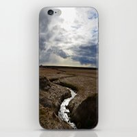 iceland iPhone & iPod Skins featuring iceland by katie moon