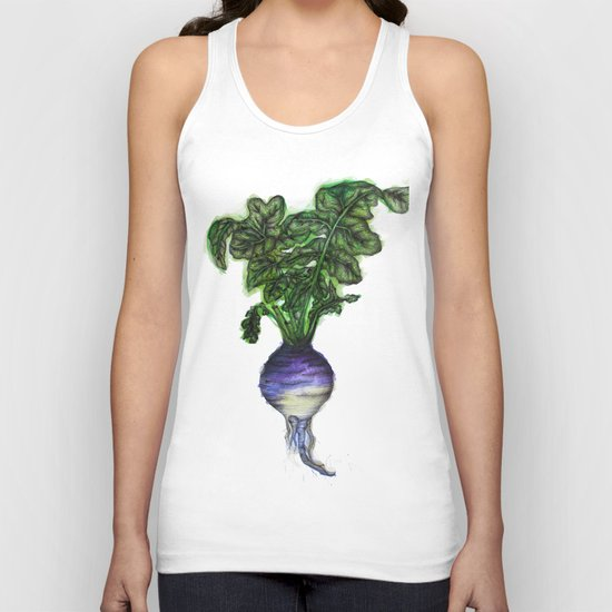 Rooted: The Rutabaga Unisex Tank Top