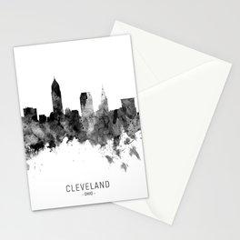 Cleveland Ohio Skyline Stationery Cards