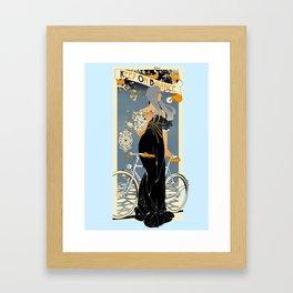 Keep on balance Framed Art Print
