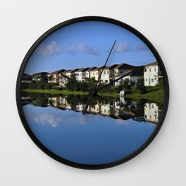 Reflections (1) Wall Clock
