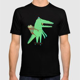 Crocodile and Sloth. T-shirt