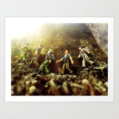 The March Art Print