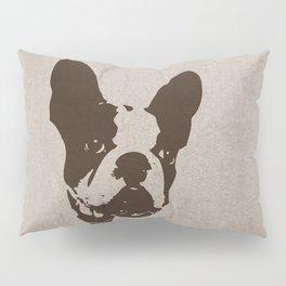 FRENCH BULLDOG IN SEPIA Pillow Sham