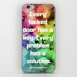 Warcross Quote iPhone Skin