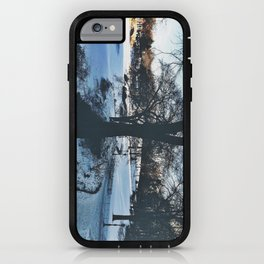 winter in new york iPhone Case