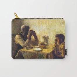 African American Masterpiece 'The Thankful Poor' by Henry Ossawa Tanner Carry-All Pouch