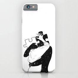 The puzzle love. iPhone Case