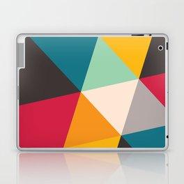 Geometric Triangles Laptop & iPad Skin