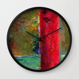 Pipe Line Wall Clock