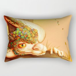 Autumn dragon Rectangular Pillow