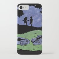 suits iPhone & iPod Cases featuring Adult Suits by Laura Lee Gulledge