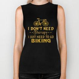 GO BIKING Biker Tank