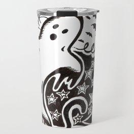 Boo! Happy Halloween! Travel Mug