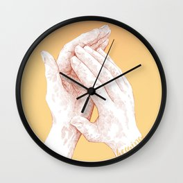 5 senses - Hearing Wall Clock