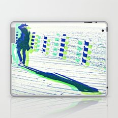 Young Woman with Hat Laptop & iPad Skin
