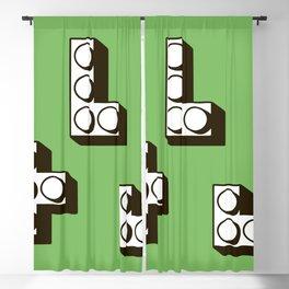 Tetromino Blackout Curtain