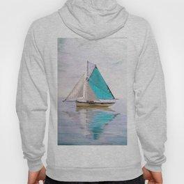 blue boat Hoody