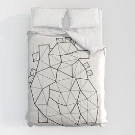 Minimal crystal heart anatomy Comforters