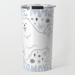 The Majestic Samoyed Travel Mug
