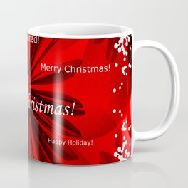 Merry Christmas #decor #homedecor #society6 Coffee Mug
