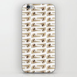 Many champignon slices pattern iPhone Skin