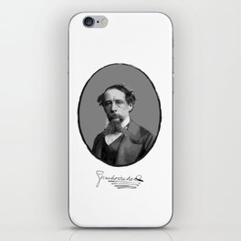 Authors - Charles Dickens iPhone Skin