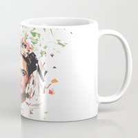 frida Mugs featuring Frida by Tracie Andrews
