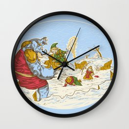 A Chrono to the past Wall Clock