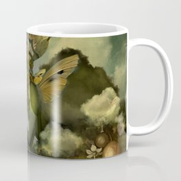 """The body, the soul and the garden of love"" Coffee Mug"