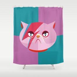 Glam cat Shower Curtain