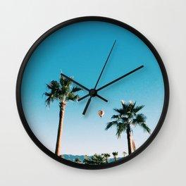 Hot Air Wall Clock