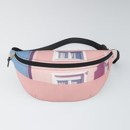 Sunny House And Blue Sky Fanny Pack