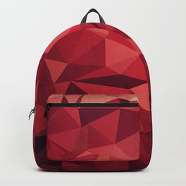 Red Triangles Backpack