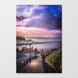 Mind Your Step Canvas Print