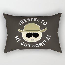 Respecto Mi Authorita! Rectangular Pillow