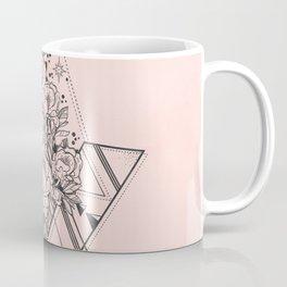 Roses in Moonlight Pink Coffee Mug