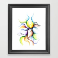 My Dancer's Embrace Framed Art Print