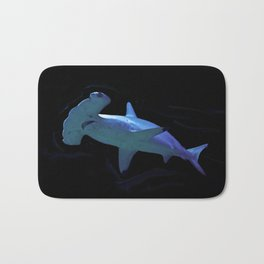 Watercolour Hammerhead Shark Bath Mat