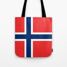 Flag: Norway Tote Bag