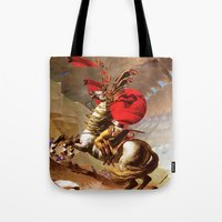 napoleon Tote Bags featuring Napoleon by Marko Köppe