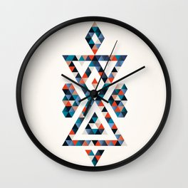 INDIAN - TIME Wall Clock