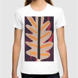 Fire Leaf - Collage 43 T-shirt