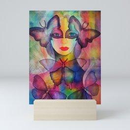 Lady Butterfly Mini Art Print
